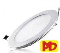 Đèn xưởng - đèn đường Đèn âm trần siêu mỏng 3 màu (4W~18W) Phi90 ~Phi200