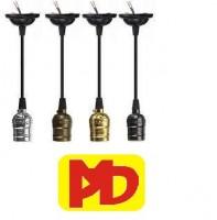 Đèn xưởng - đèn đường Dây Thả Đuôi  Nhôm (Đồng, Bạc,Trắng,Vàng,Đen)