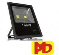 Đèn pha headlight Pha led  100w (Trắng-Vàng) loại  1