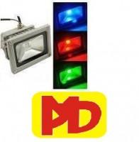 Đèn pha headlight Pha LED 10w (Đỏ - Lá -  Dương)