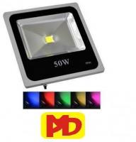 Đèn pha headlight Pha LED 50w (Đủ Màu  )