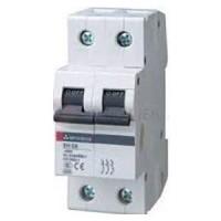 MCB CB-Tép BREAKER Cầu dao tự động MCB MITSUBISHI 2P- 10A- 4.5kA-BHW-T4 2P