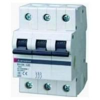 MCB CB-Tép BREAKER CẦU DAO TỰ ĐỘNG MCB MITSUBISHI 3P- 10A- 4.5KA-BHW-T4 3P