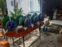 Ổ - Phích cắm công nghiệp ổ quay rulo đa năng 2P+E 220v 3P+E 380v hai trong một
