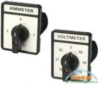 Đồng hồ Cos Phi - Hz công tắt chuyển mạch voltage và ampe